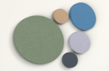 TK-Team Hush Light Round Acoustic Panel